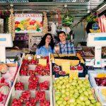 frutta mista di antonio e simonetta al mercato casal de pazzi - roma